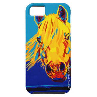 Horses in Primary by Shai Steiner iPhone 5 Tough iPhone 5 Case