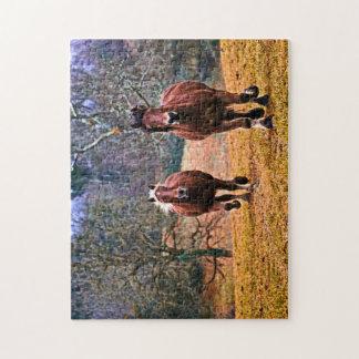 Horses Jigsaw Jigsaw Puzzle