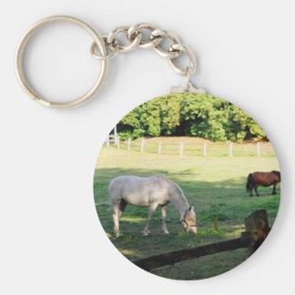 Horses Key Ring