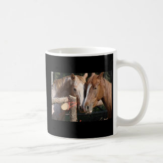 Horses leave footprints on your heart coffee mug