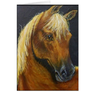 Horses Note Card