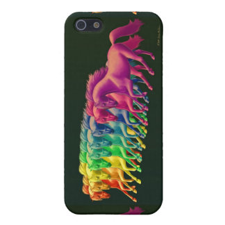 Horses of Different Colors iPhone Case iPhone 5/5S Cases