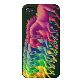 Horses of Different Colors Speck Case iPhone 4 Cases