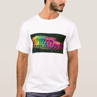 Horses of Different Colors T-Shirt