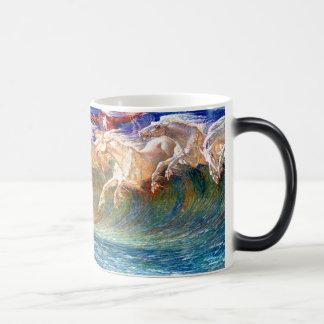 """Horses of Neptune"" - Customized Magic Mug"