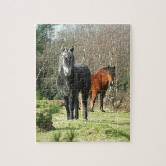 Horses of The Forest 1 Jigsaw Puzzle