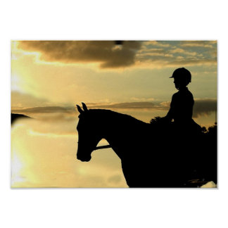 Horses - Pleasure Riding - The Overlook Poster
