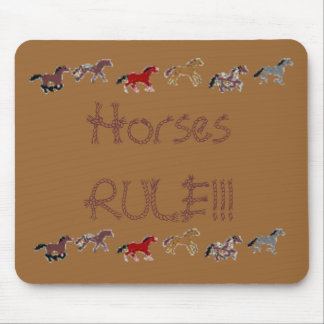Horses RULE!!! Mouse Pad