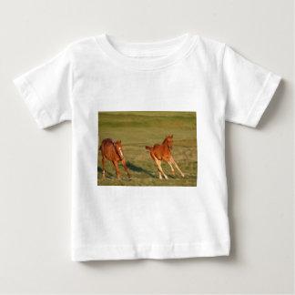 Horses Running Wild Baby T-Shirt
