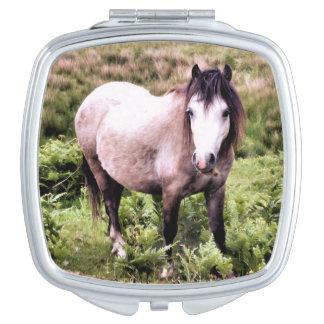 HORSES TRAVEL MIRROR