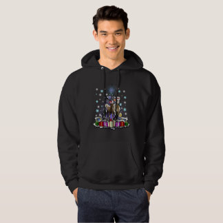 Horses with Christmas Styles Hoodie