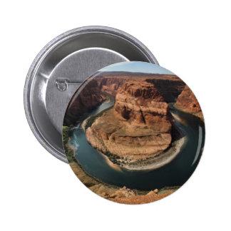 Horseshoe Bend 6 Cm Round Badge