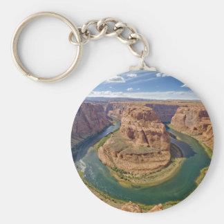 Horseshoe Bend, Arizona, USA Basic Round Button Key Ring