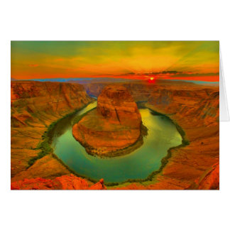Horseshoe Bend Card