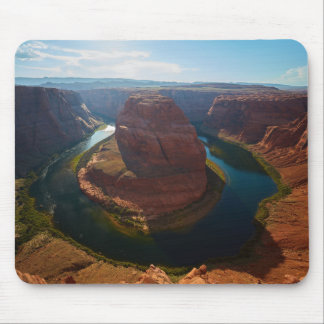 Horseshoe bend mouse pad