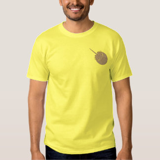 Horseshoe Crab Embroidered T-Shirt
