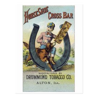 Horseshoe Cross Bar Postcard