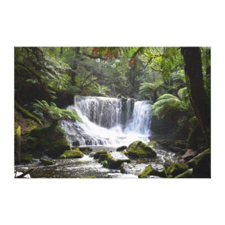 HORSESHOE FALLS MT FIELD NATIONAL PARK TASMANIA CANVAS PRINT