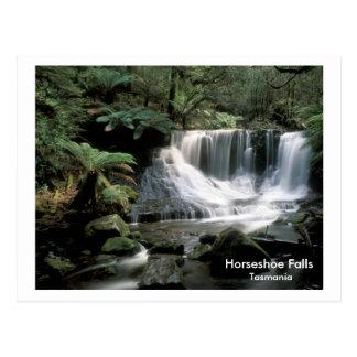 HorseShoe Falls Tasmania Postcard
