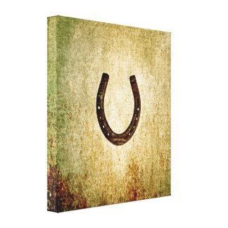 Horseshoe Gallery Wrap Canvas