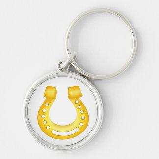 Horseshoe good luck key ring