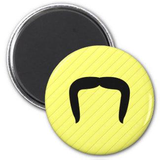 Horseshoe Mustache Fridge Magnet