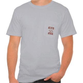 HorseShoe Pitching American Apparel Pocket T-Shirt