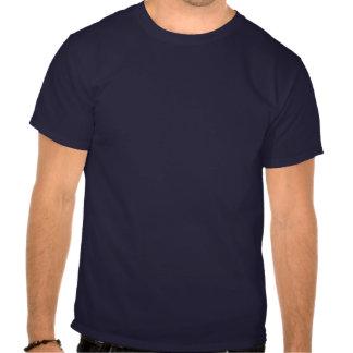 HorseShoe Pitching Basic Dark Tee-Navy Blue T Shirts