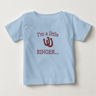 HorseShoe Pitching Infant T-Shirt-Lite Blue Shirts
