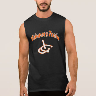 HorseShoe Pitching Sleeveless T...Winners Train Sleeveless Shirt
