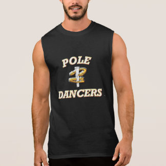 HorseShoe Pitching Sleeveless Tee-Pole Dancers Sleeveless Shirt
