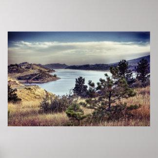 horseshoe Reservoir Colorado Poster