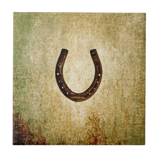 Horseshoe Small Square Tile