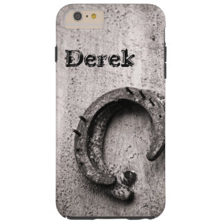 Horseshoe Vintage Sepia Photograph Tough iPhone 6 Plus Case