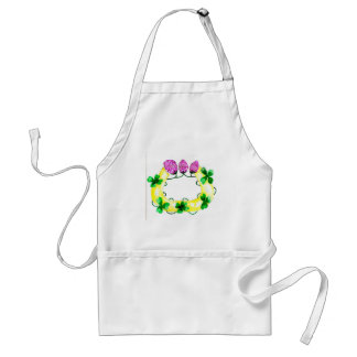 Horseshoe with Clover Standard Apron