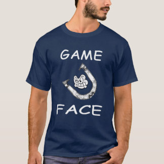 HorseShoes Game Face Basic Tee
