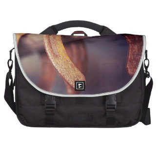 Horseshoes on Barn Wood Cowboy Country Western Commuter Bag