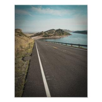 Horsetooth Reservoir Colorado Photographic Print
