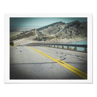 Horsetooth Reservoir Colorado Photograph