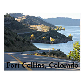 Horsetooth Reservoir post card