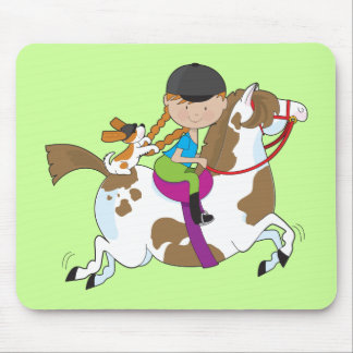 Horsey Holly Mouse Pad
