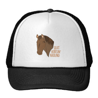 Horsin Around Cap