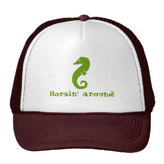 Horsin' around! hats