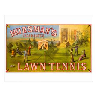 Horsman's Lawn Tennis Postcard