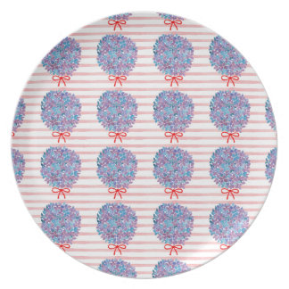 Hortensia Party Plates