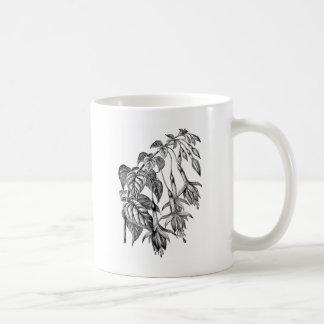 Horticultural Fuchsia Illustration Mug