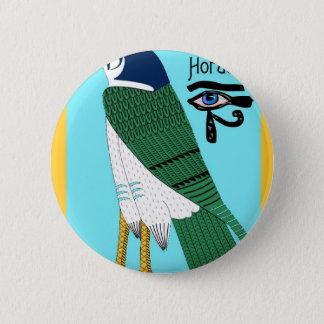 Horus 6 Cm Round Badge