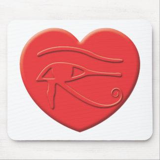 Horus Heart Mousepad