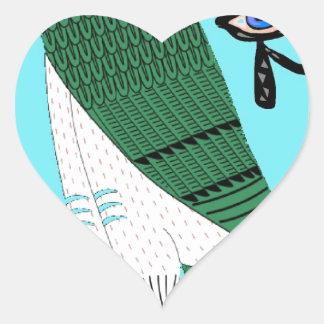 Horus Heart Sticker