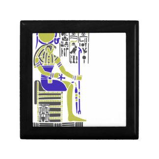Horus the Hawk Egyption Heiroglyph Gift Box